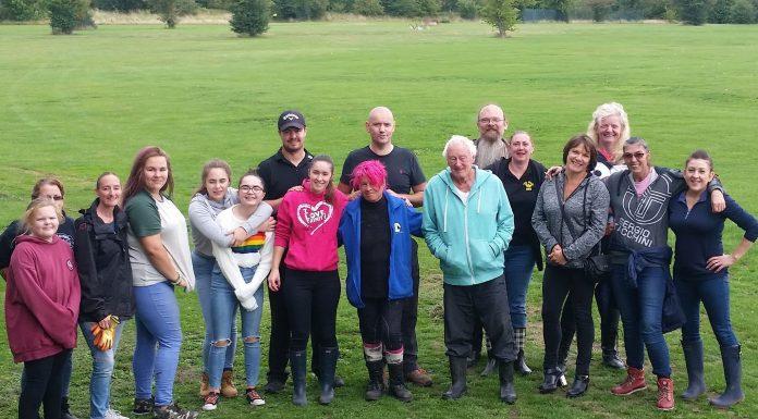 Astley Sensory Fram volunteers photo