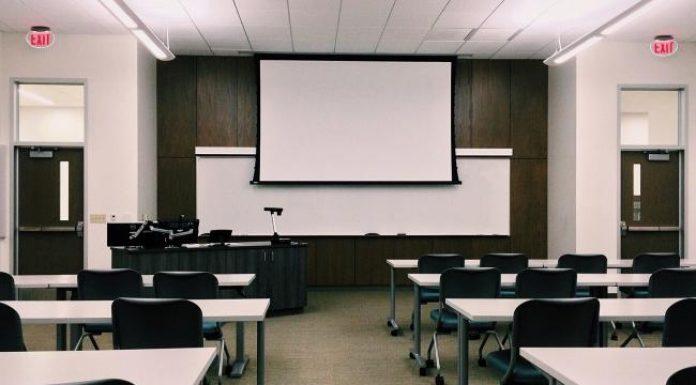 Getting school ready Photo of classroom
