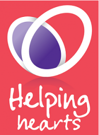 Helping Hearts Heart Research UK & Subway logo
