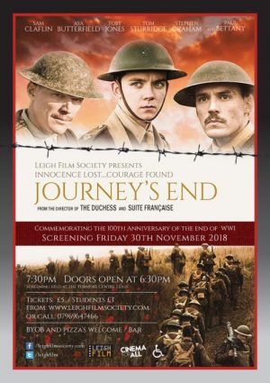 poster advertising Journey's End