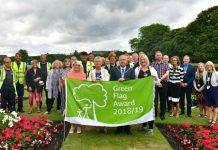 Pennington Hall Park Green Flag Photo