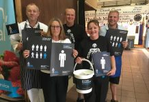Leigh Market stall holders raise money for Prostate Cancer UK
