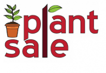 cartoon image depicting plant sale