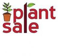 cartoon image depicting plant sale