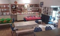 image of craft room at stables gallery