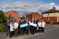 Wigan Council, Greater Manchester Police, MP Jo Platt, Greater Manchester Fire and Rescue Service, residents groups and other partners have come together for a month of action in Leigh