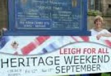 advert for heritage weekend