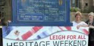 advert for heritage weekend