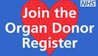 Organ Donor Register Card