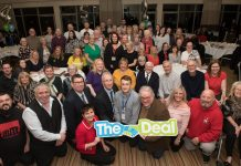 Past recipients of The Deal for Communities Investment Fund at a cleebration event earlier this year with the Leader of Wigan Council Councillor David Molyneux and Wigan Council chief executive Donna Hall