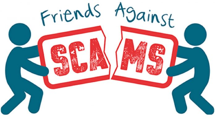 logo for friends against scams