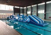 photo of swimming pool and apparatus