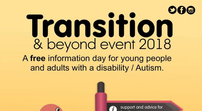 poster advertising Transition & Beyond Event
