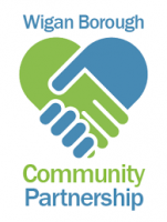 wigan borough community partnership logo