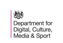 logo for Dept for Digital Culture Media and Sport