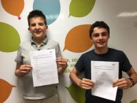 Keegan and William encourage young people to have their say
