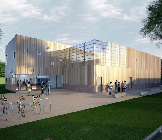 Standish Leisure Centre artist impression