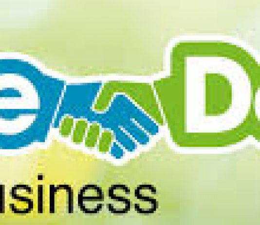 the deal business logo