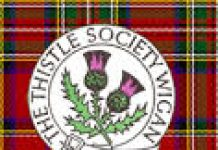 logo for the Thistle Society