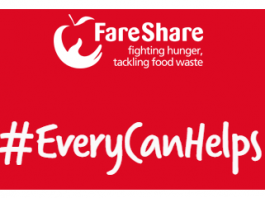 red and white Fareshare logo