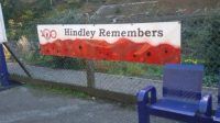 Hindley station remembers - large poster