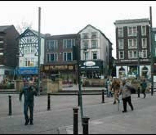 Market Place Wigan Photo