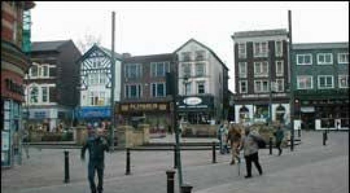 Market Place Wigan Photo