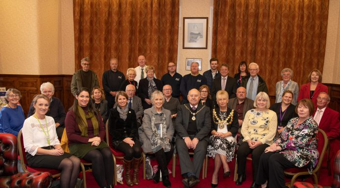 Wigan in Bloom volunteers at the Mayors Reception