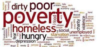 Poverty logo