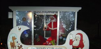 photo of Astley Rotary Santa Sleigh