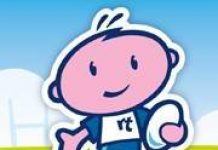 cartoon image representing Rugbytots North Cheshire and Gtr Manchester
