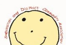logo for shevington & District Community Association