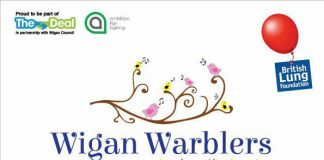 Wigan Warblers poster