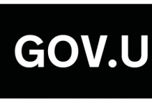 white logo on black background for Gov.uk