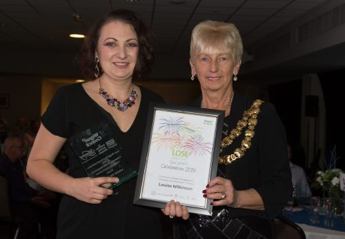 172: Louise Wilkinson - Changing Lifestyle and Increased Activity Award Winner Community Weight Management