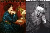 arty photo depicting William and Jane Morris Fund