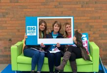 some of the Team on the Big Sofa