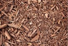image of wood chippings