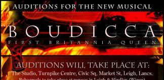 poster advertising musical