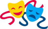 clip art theatre mask