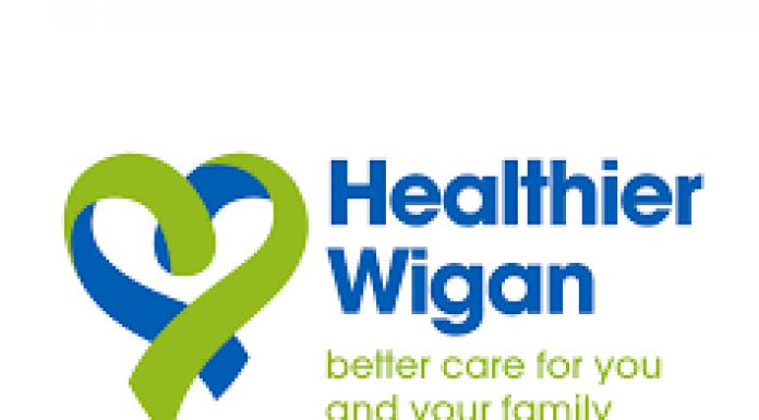 healthier wigan partnership logo