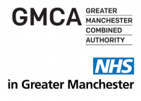 Greater Manchester Combined Authority and NHS logo