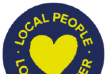 logo saying local people: local power