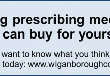 poster advertising the stop prescribing medicines you can buy yourself