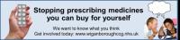 poster advertising the stop prescribing medicines you can buy yourself