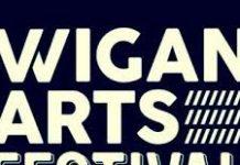 logo for wigan arts festival
