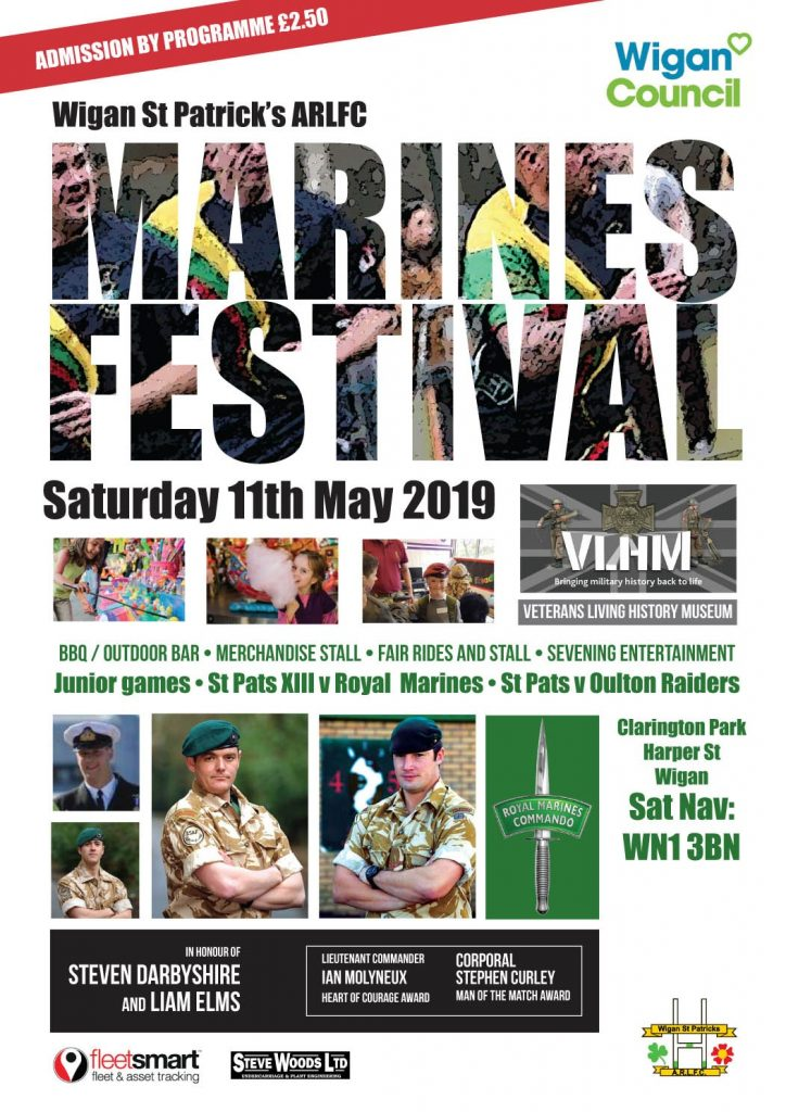 poster advertising Marines festival