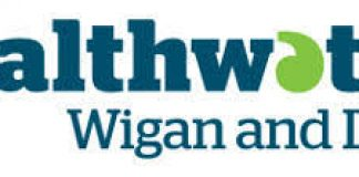 logo for healthwatch wigan and leigh