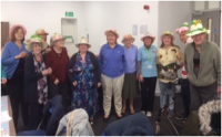 photo of a group of people attending the luncheon club