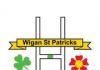 logo for wigan st pat's arlfc